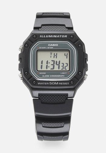 UNISEX - Digital watch - black