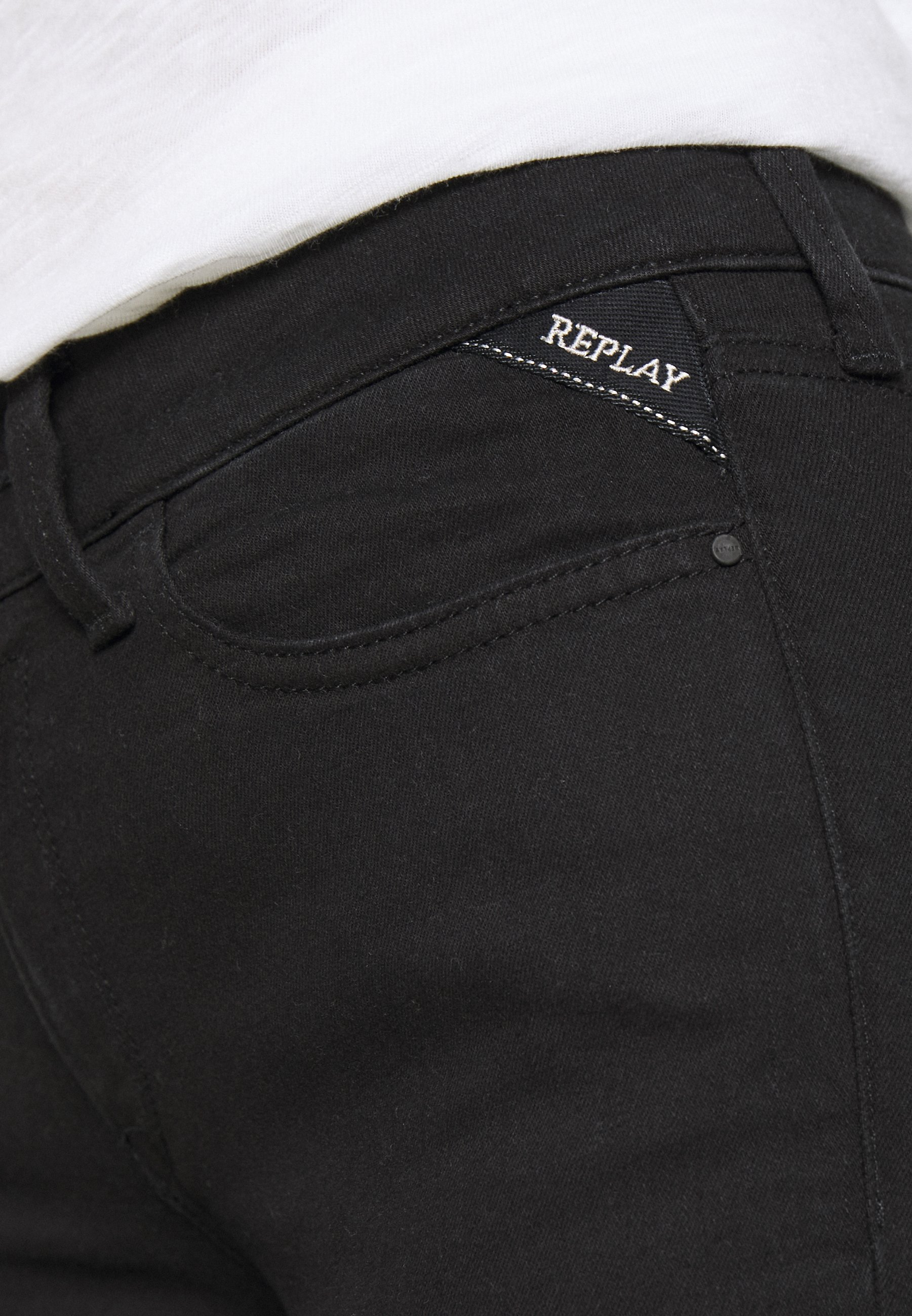 Replay NEW LUZ - Jeans Skinny - black
