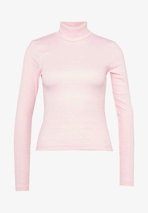 VERENA TURTLENECK - Langærmede T-shirts - bubblegum pink