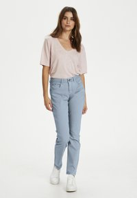 Cream - Slim fit jeans - dusty blue - 1