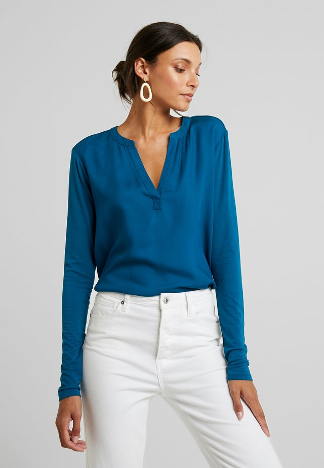 KACALINA BLOUSE - Bluser - moroccan blue
