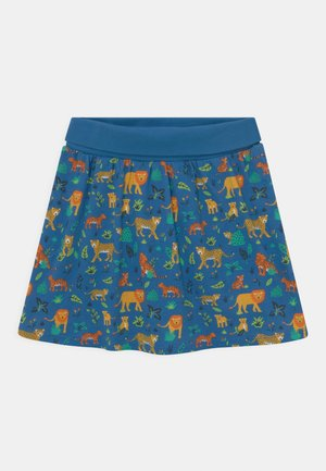 LUNA ANIMALS - Mini skirt - cobalt