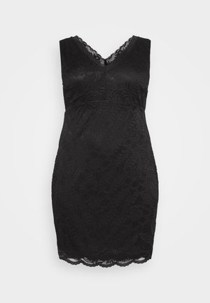 VMJANNE DRESS - Vestido de tubo - black