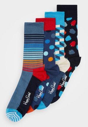SOCKS GIFT 4 PACK - Socken - navy