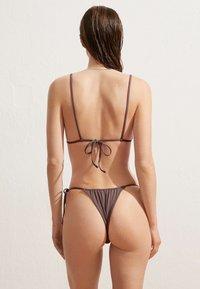 OYSHO - Bikini top - brown - 2