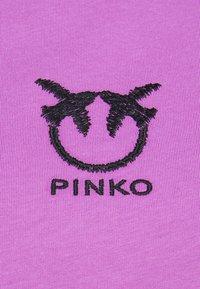 Pinko - BUSSOLANO  - T-shirts med print - lilac - 2