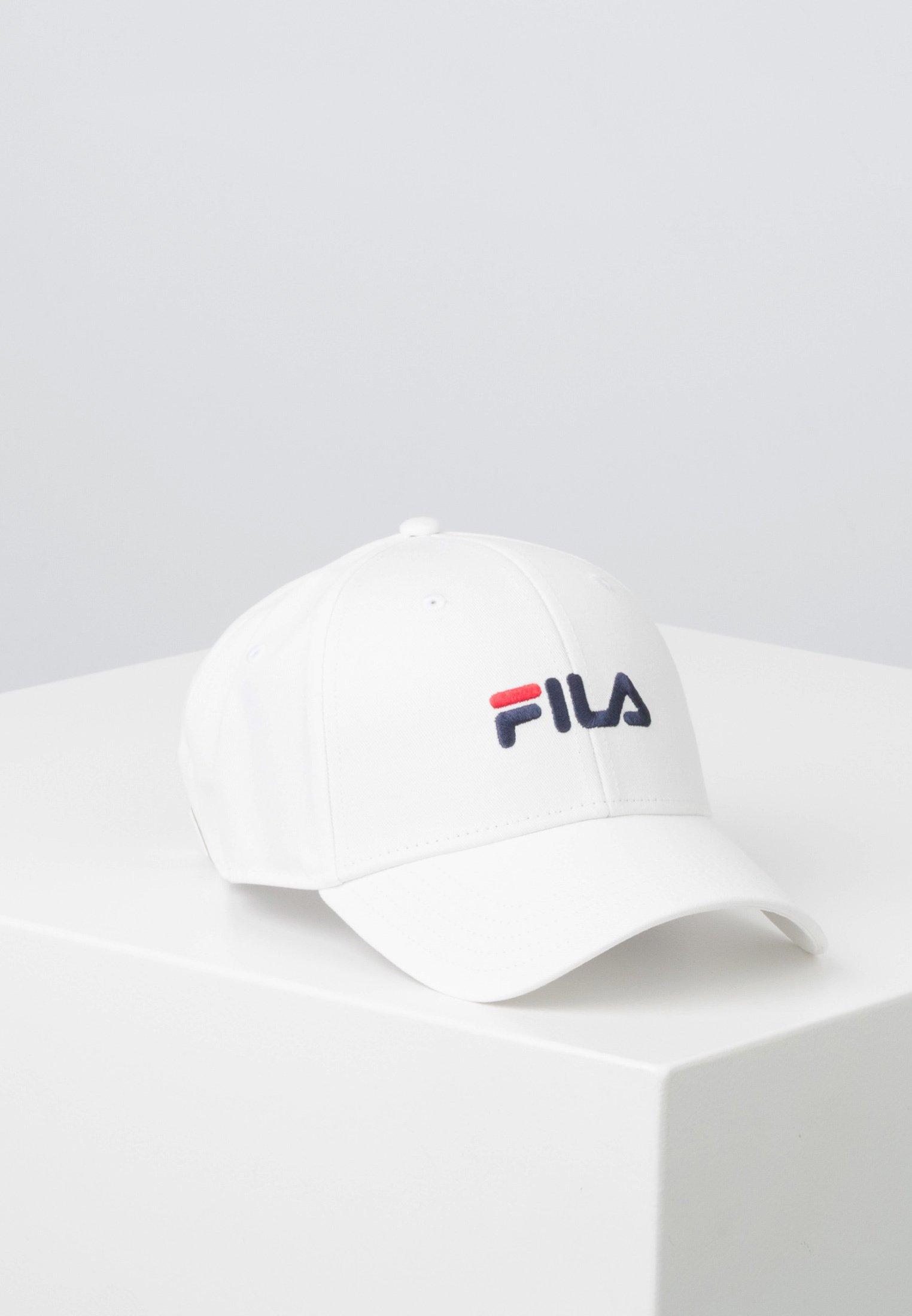recoger Certificado acceso  Fila LINEAR LOGO - Cap - bright white/white - Zalando.co.uk