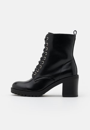 MAYA - Lace-up ankle boots - black