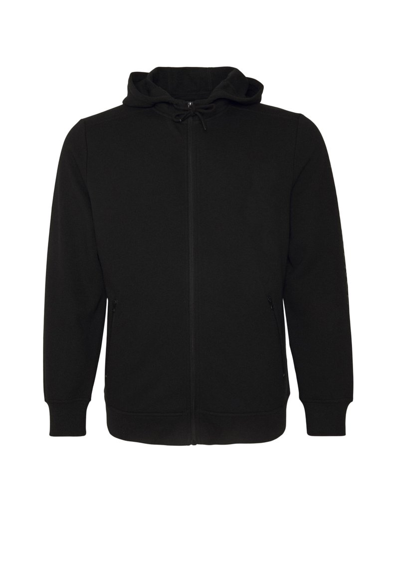 Johnny Bigg - GRAPHIC PRINT ZIP THROUGH HOODIE - Zip-up sweatshirt - black