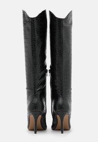 Call it Spring - VEGAN GEORGIAA - High heeled boots - black - 3