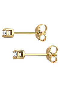 DIAMORE - Earrings - gold-coloured - 4