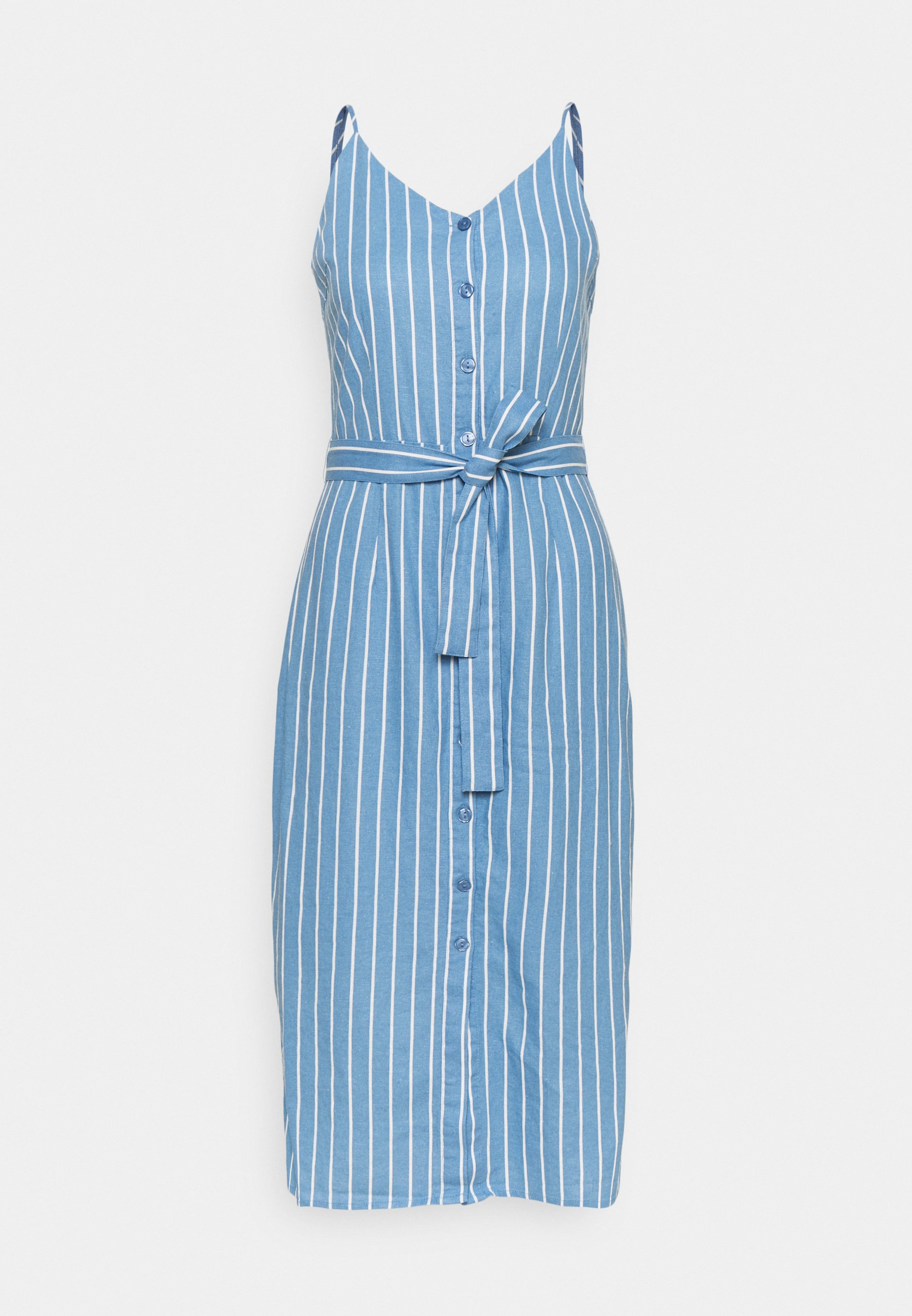 Femme ONLARISA LONG STRIPE DRESS  - Robe d'été