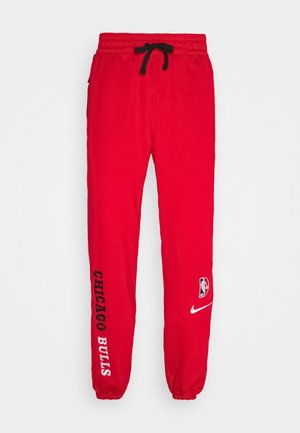 NBA CHICAGO BULLS THERMAFLEX PANT - Spodnie treningowe - university red/black/white