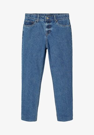 HIGH WAIST  - Slim fit jeans - medium blue denim