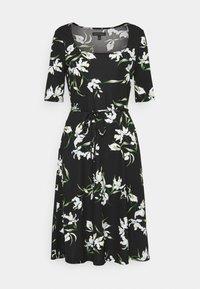 Banana Republic - PORTRAIT NECK - Jersey dress - black - 4