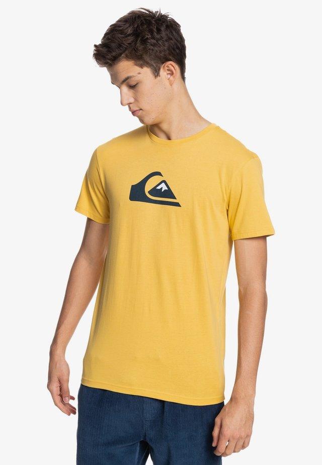 COMP LOGO  - Print T-shirt - rattan