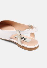 Zign - Slingback ballet pumps - white - 5