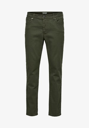 Straight leg jeans - beetle