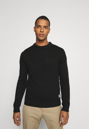 JCOBRANDON CREW NECK - Jumper - black