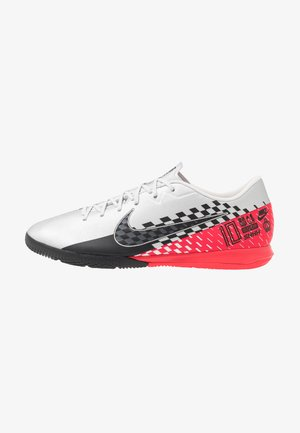 VAPOR 13 ACADEMY NEYMAR IC - Indoor football boots - chrome/black/red orbit/platinum tint