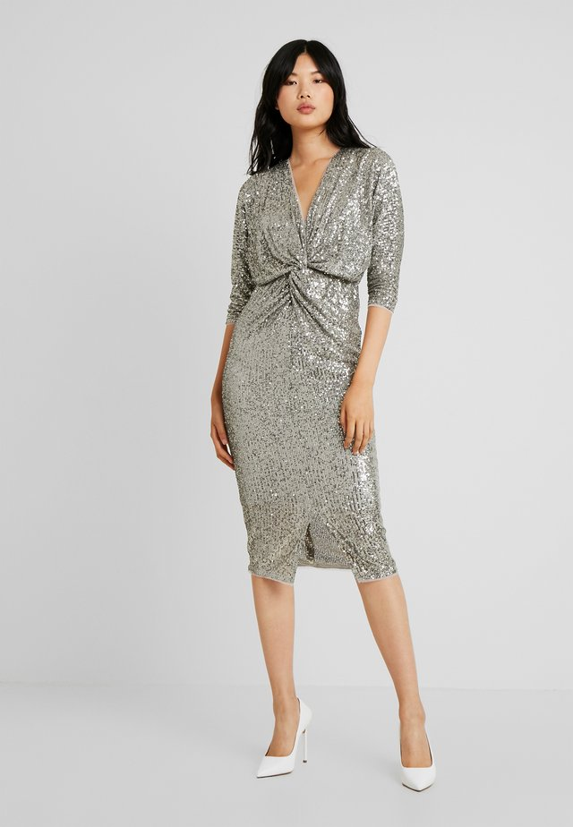 VEDA DRESS - Juhlamekko - sage green