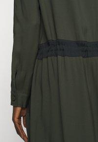 MAX&Co. - GLENDA - Skjortekjole - khaki green - 4