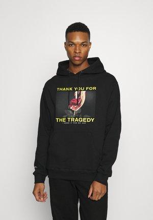 HOODIE TRAGEDY UNISEX - Sweater - black