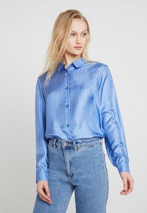 ALEXANDRIA - Button-down blouse - blue starry