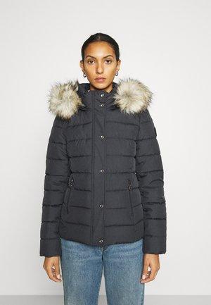 ONLLUNA QUILTED JACKET - Winter jacket - dark blue