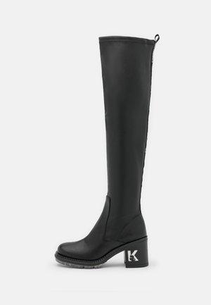 LANCER II HI LEG BOOT - Overknees - black