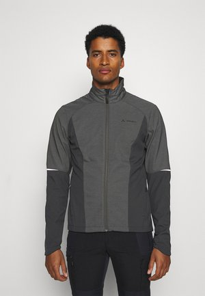 MENS WINTRY JACKET IV - Kurtka Softshell - black