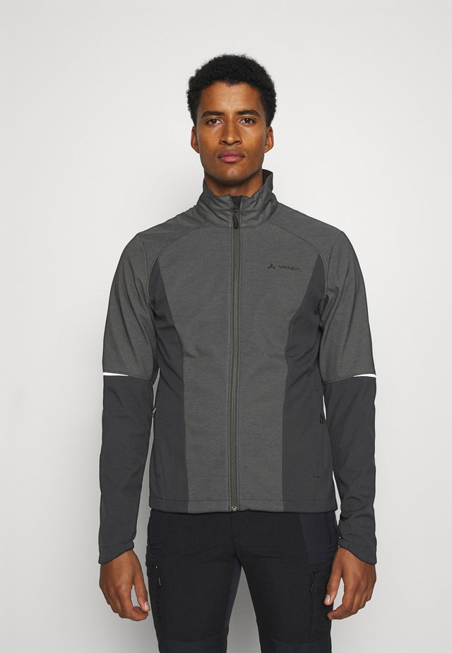 MENS WINTRY JACKET IV - Soft shell jacket - black