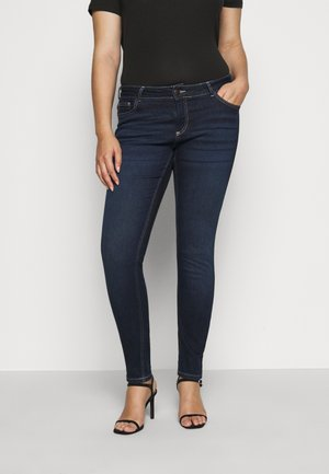 JPOSH LONG SANNA - Jeans Skinny Fit - dark blue denim