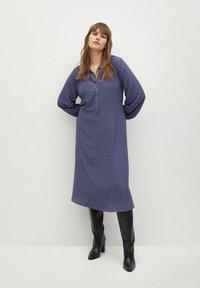 Violeta by Mango - METRIC - Shirt dress - blau - 1