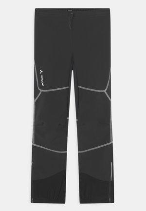 CAPACIDA UNISEX - Outdoorbroeken - black