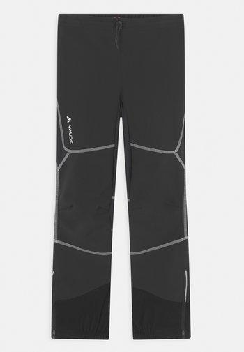 CAPACIDA UNISEX - Outdoor trousers - black