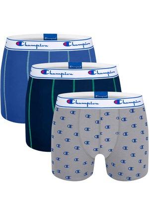 3 PACK - Underkläder - blau/grau