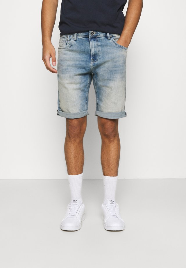 BRASS - Shorts di jeans - bleached used