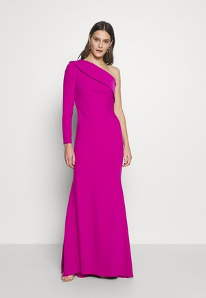 LONG SLEEVE ASYMMETRIC DREES - Occasion wear - pink