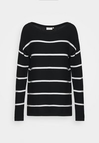 Kaffe - KAMARIA - Jumper - black/chalk - 4