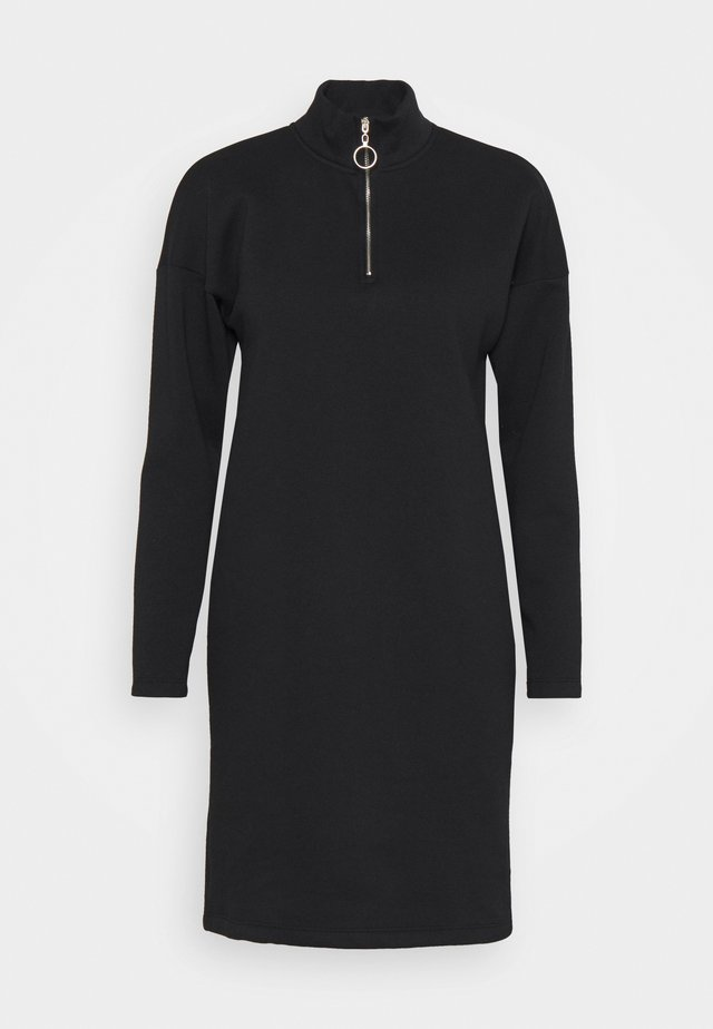 NMPERI ASYA HIGHNECK - Day dress - black