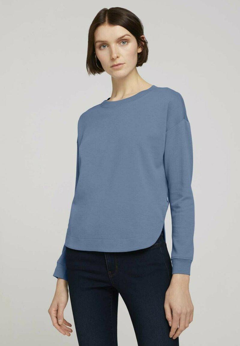TOM TAILOR DENIM - Sweatshirt - soft mid blue