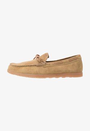 CALAROSSA - Nazouvací boty - beige