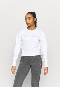 Champion - CREWNECK LEGACY - Sweatshirt - white - 0