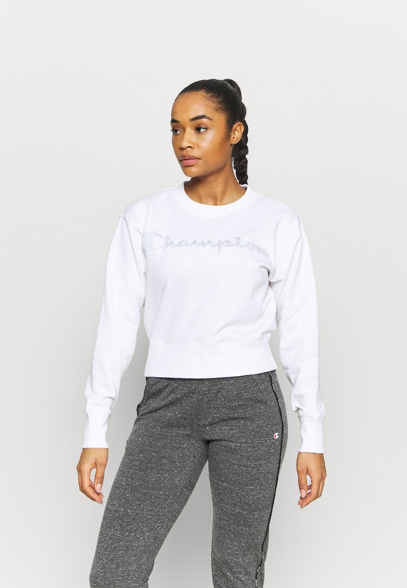 Champion - CREWNECK LEGACY - Collegepaita - white