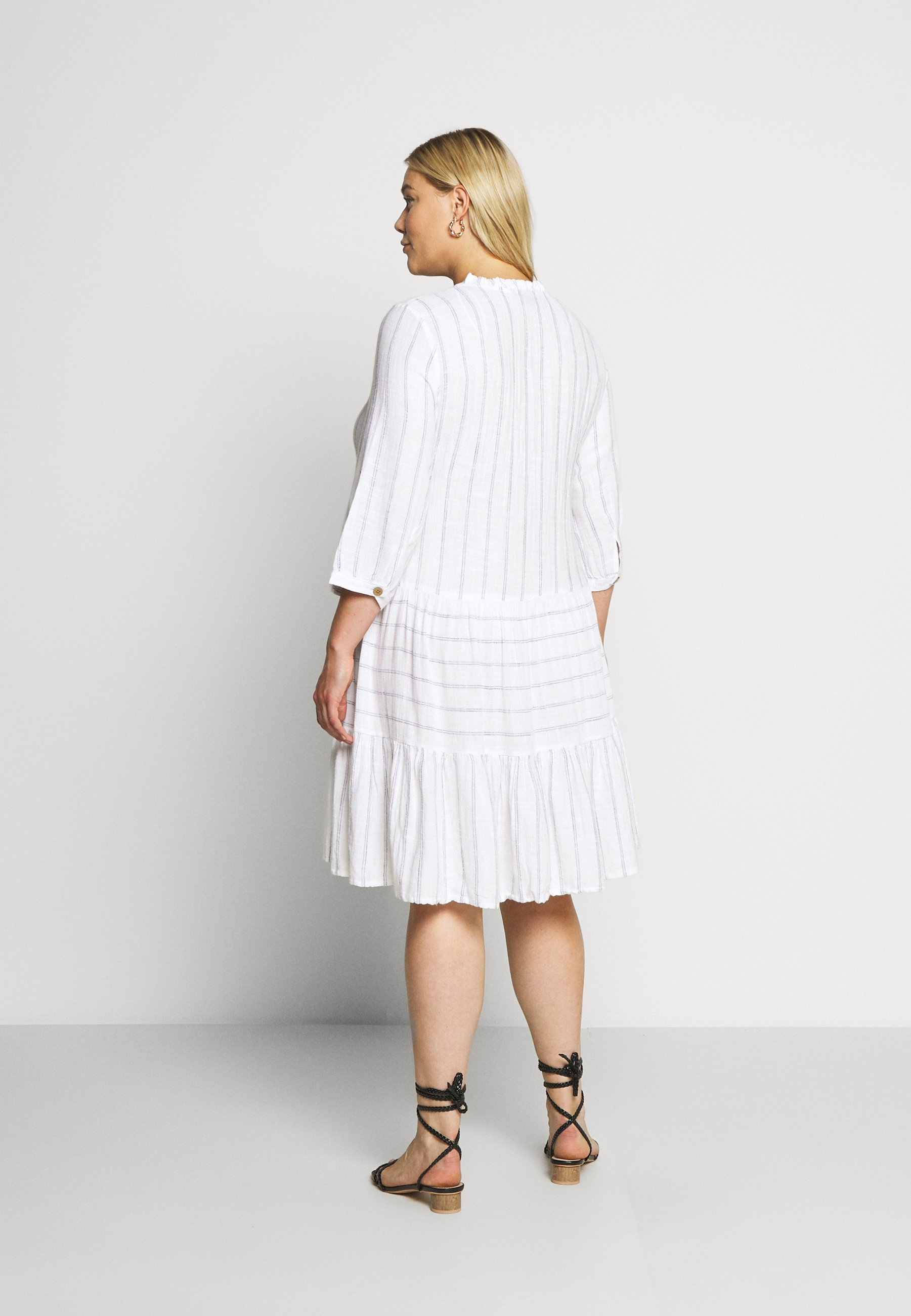 Zizzi MCATA - Day dress - white - Women's Clothing 5PV1i