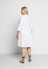 Zizzi - MCATA - Day dress - white - 2