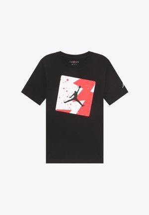 POOLSIDE CREW - Print T-shirt - black