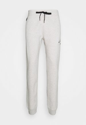 ICONIC PRINT - Tracksuit bottoms - texture grey