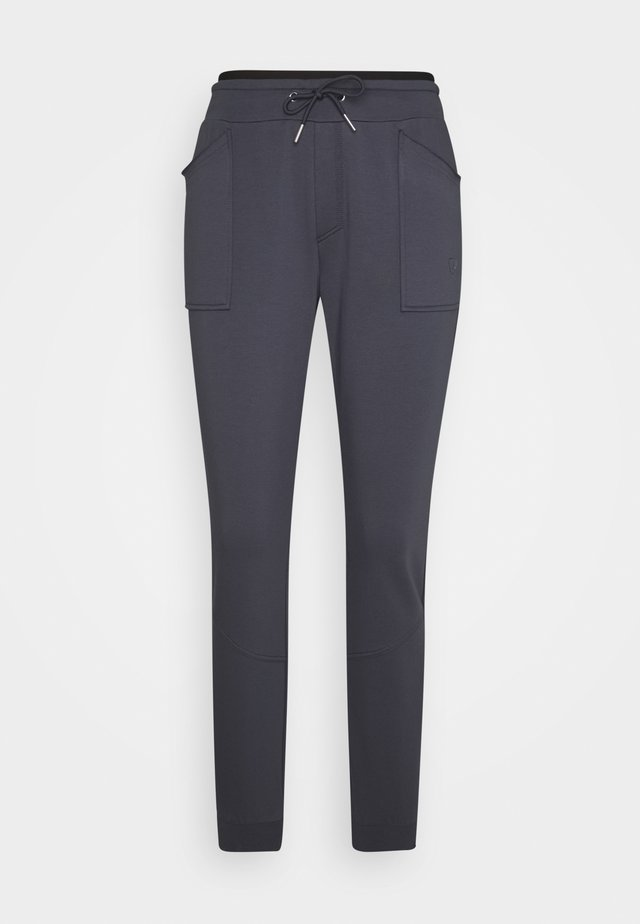 SOLE - Tracksuit bottoms - squalo